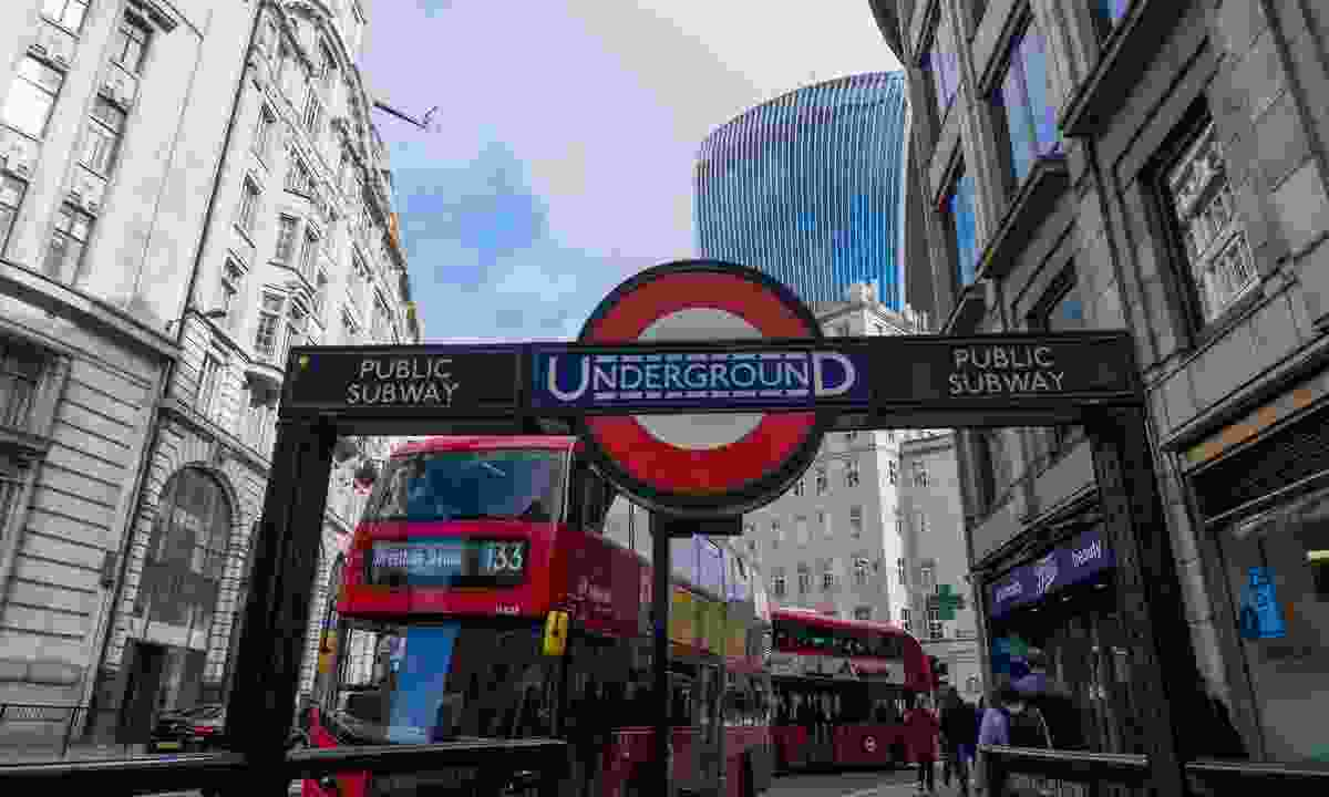 London's transport system is effeicent and affordable (Shutterstock)