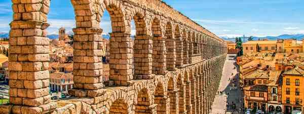 The Roman aqueduct in Segovia, Spain (Shutterstock)