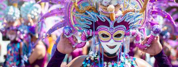 Mardis Gras or Fat Tuesday celebrations in the Philippines