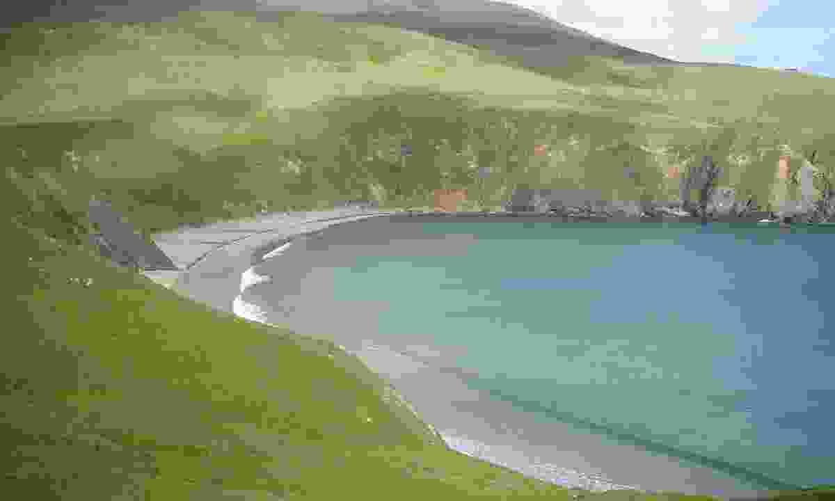 Silver strand beach at Malin Beg (Failte Ireland)