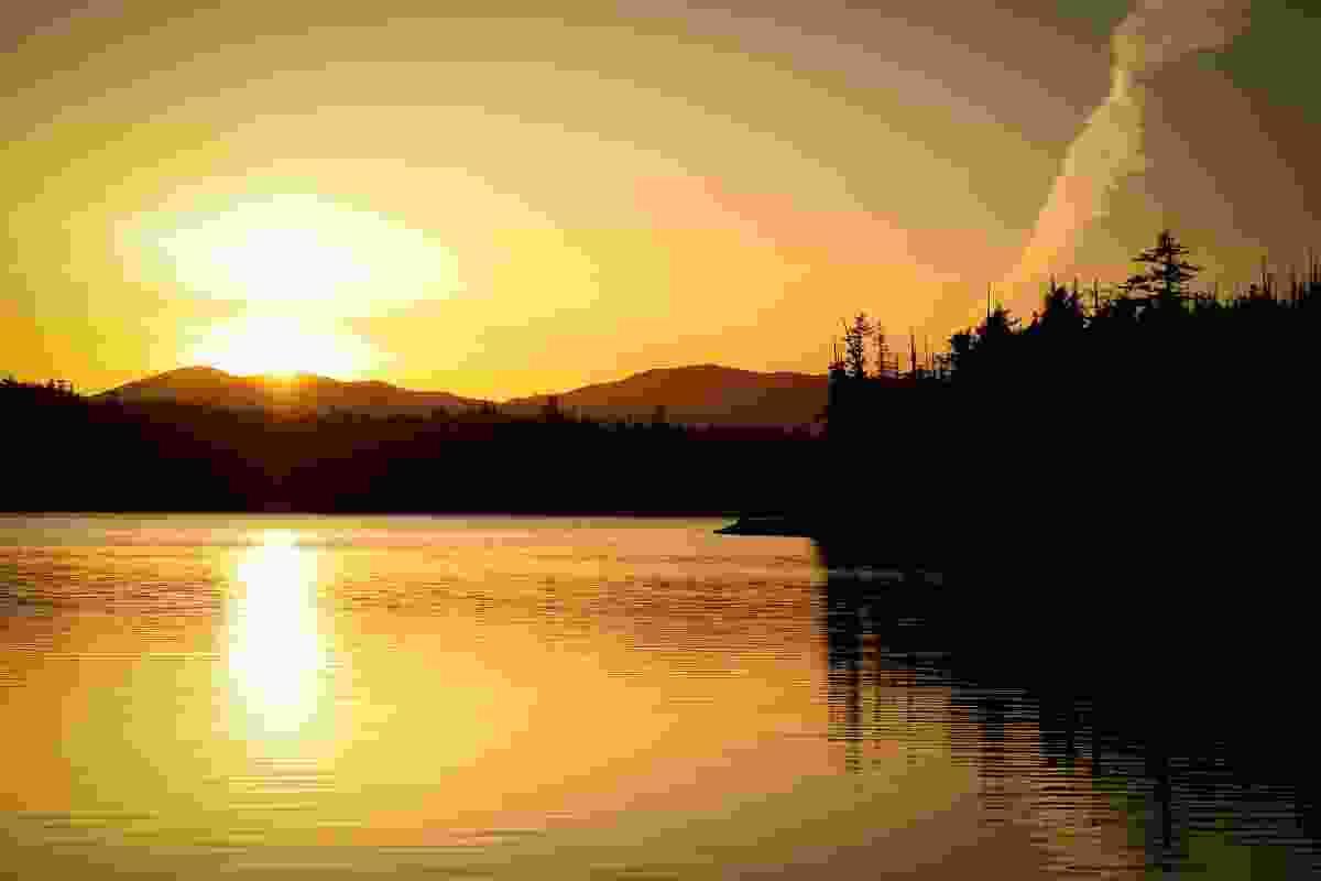 Sunset on Chatham Sound, British Columbia, Canada (Phoebe Smith)