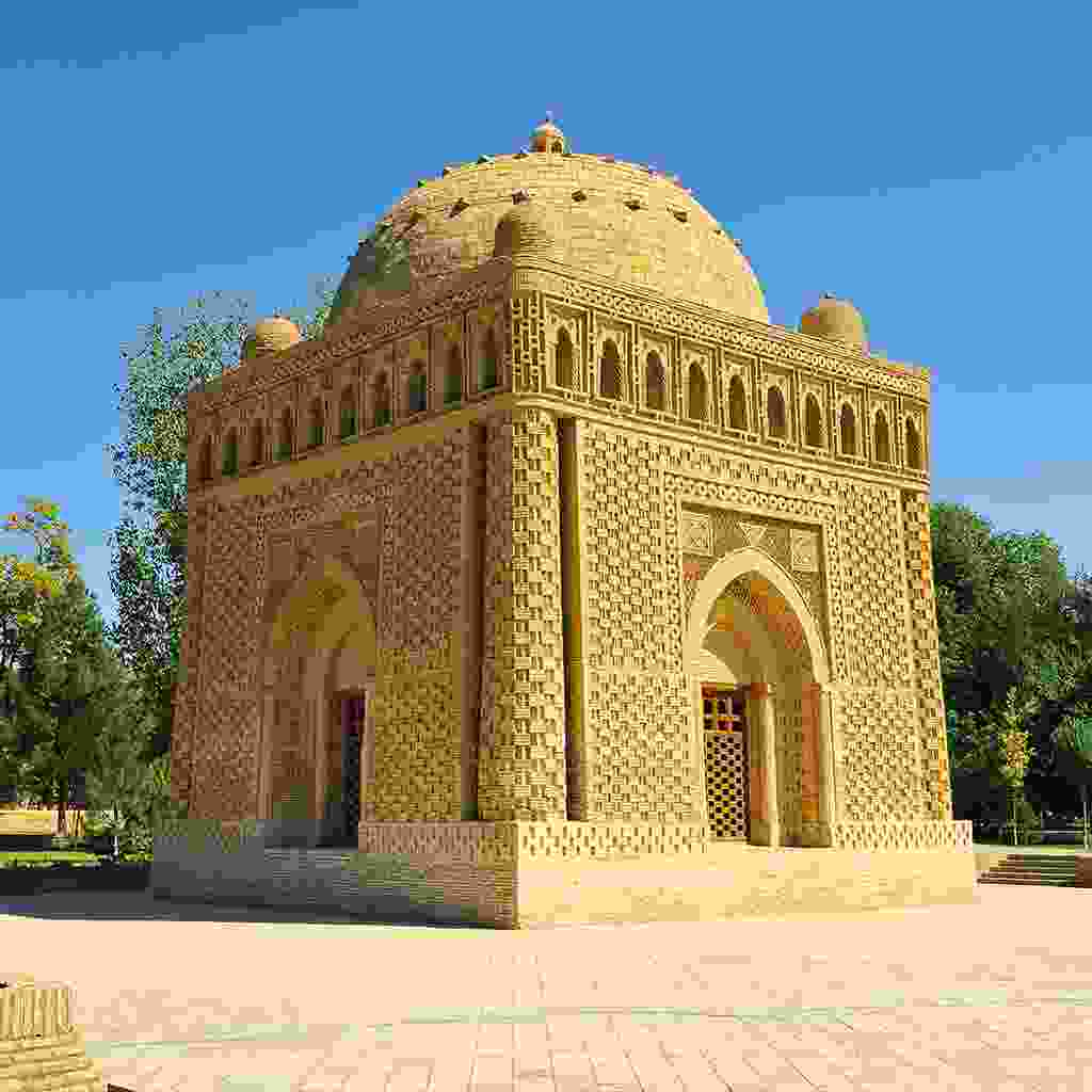Ismail Samanid's Mausoleum in Uzbekistan (Shutterstock)