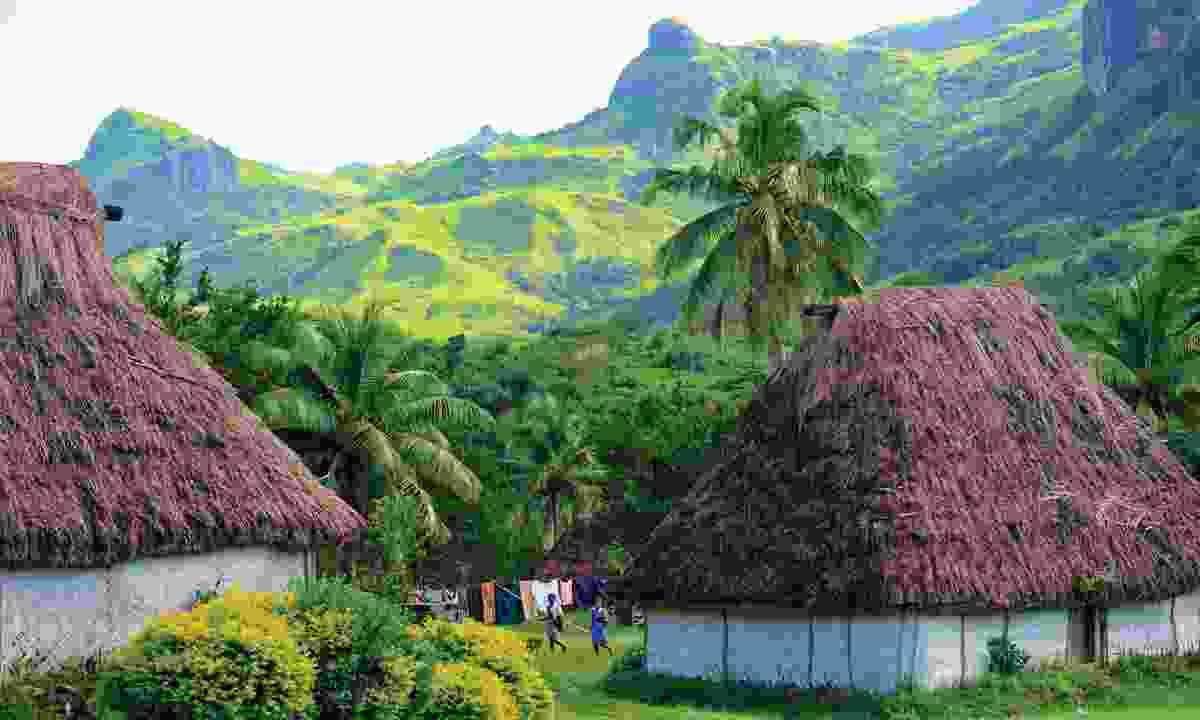 Fijian bures (Mark Snyder)
