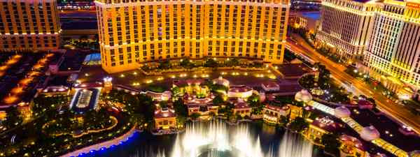 The Fountains of Bellagio (Shutterstock)