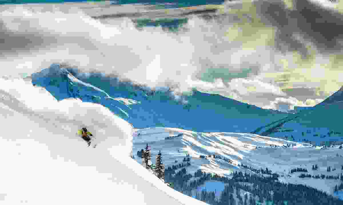 Skiing at Whistler Blackcomb Ski Resort (Destination BC/Blake Jorgenson)