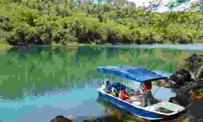Boat trips at Awasi allow for deeper exploration (Sarah Gilbert)