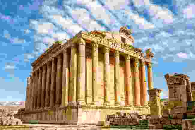 Temple of Bacchus in Baalbek, Lebanon (Shutterstock)