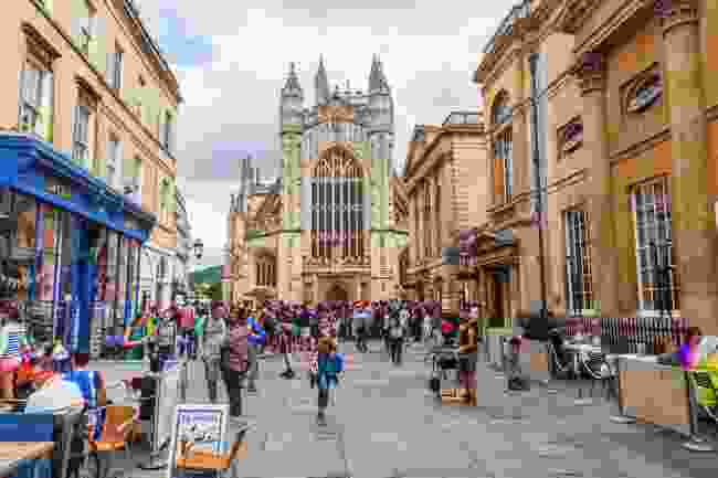 Bath city centre (Shutterstock)