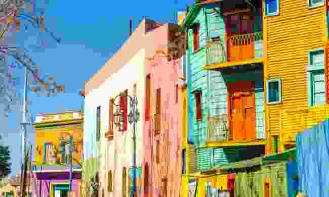 Caminito Street, Buenos Aires (Dreamstime)