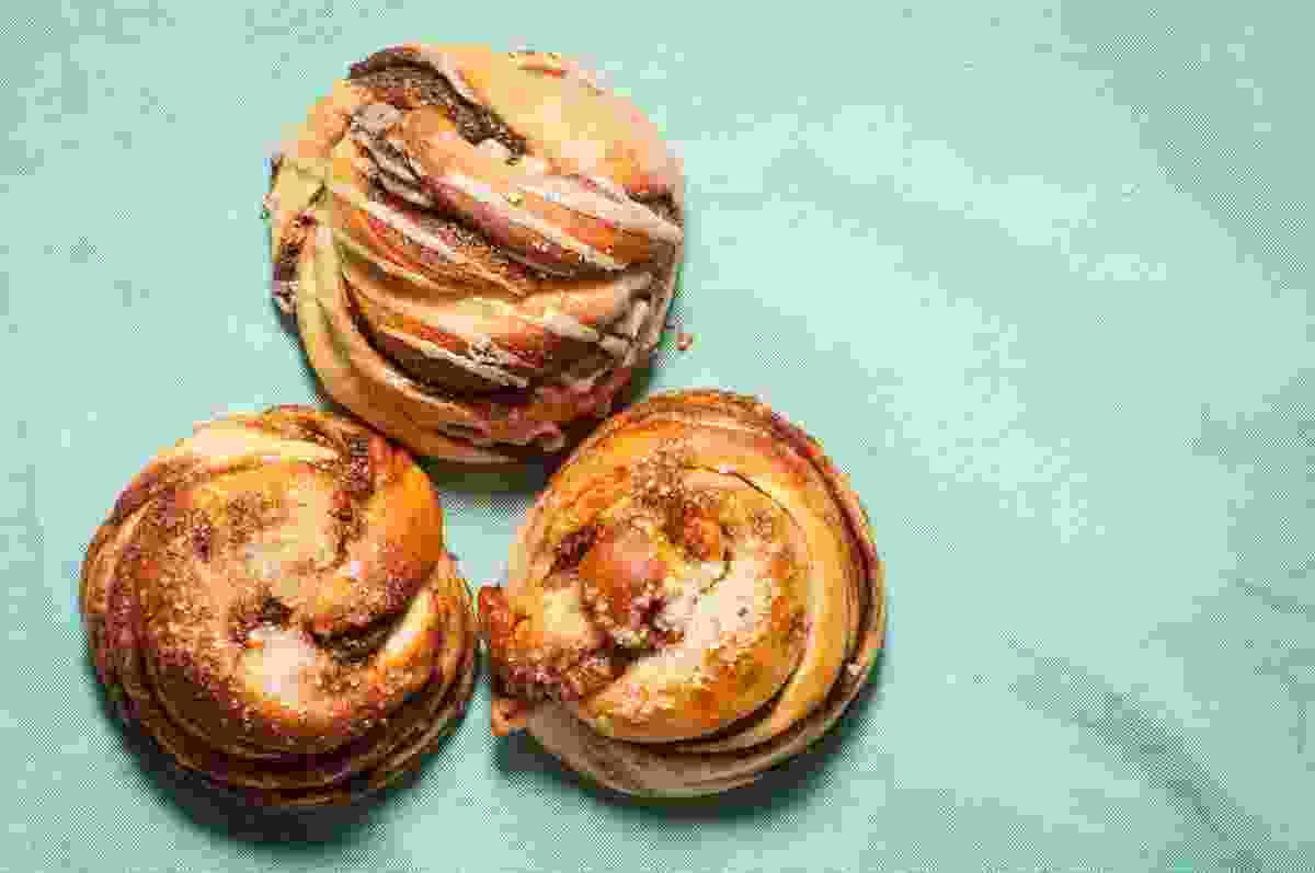 Delicious pastries are essential to fika (Shutterstock)