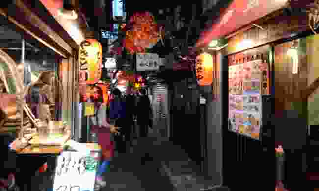 Yakatori Alley in Tokyo (Dreamstime)