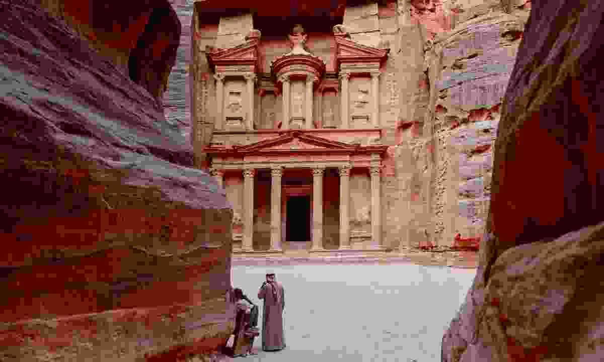 Al Khazneh in Petra (Dreamstime)