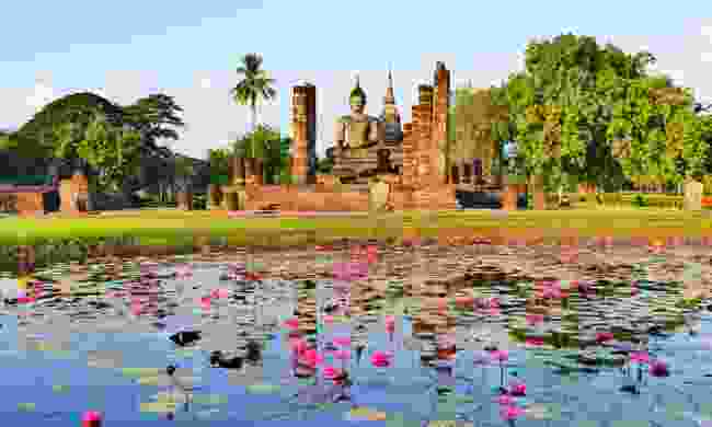 Wat Mahathat in the Sukhothai Historical Park (Dreamstime)