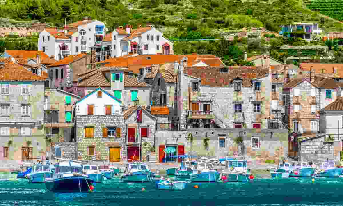 Komiža waterfront  (Dreamstime)