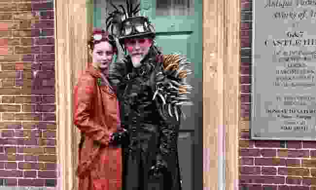 Steam Punks in Lincoln (Peter Moore)