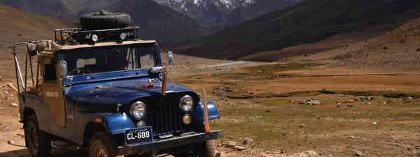 A jeep in the Hindu Kush (Wild Frontiers)