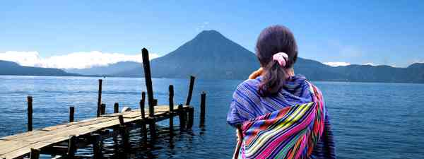 Looking out over Lake Atitlán (SelectLatinAmerica)
