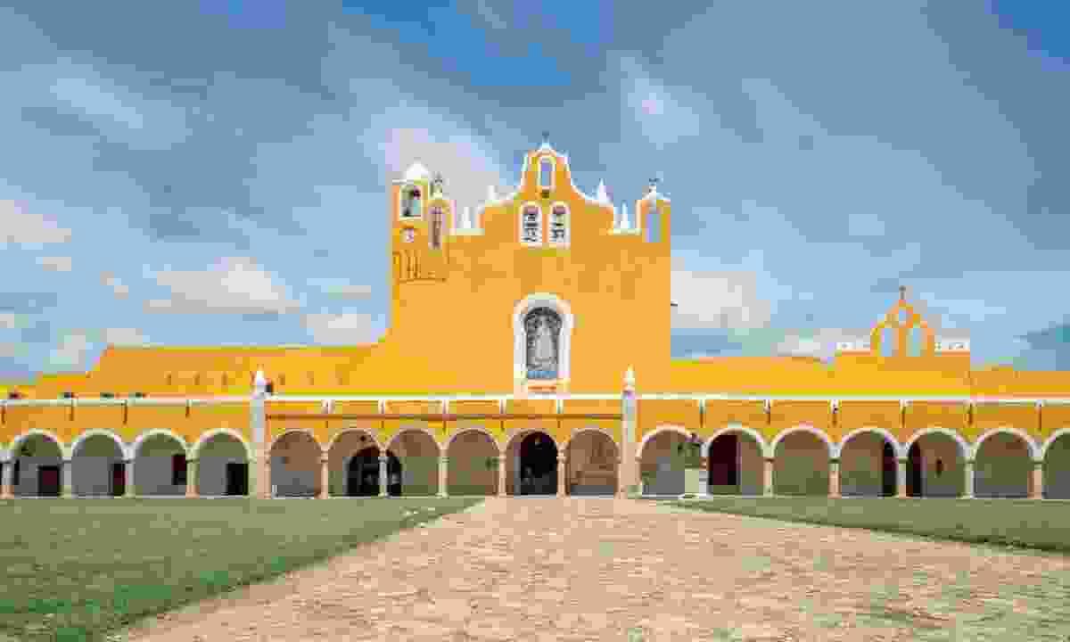 Convento de San Antonio de Padua in Yucatán's 'Yellow City', Izamal (Shutterstock)