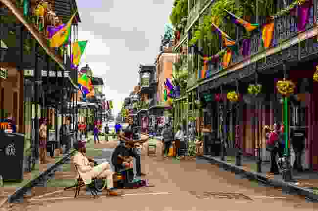 Street life in the French Quarter (Shutterstock)