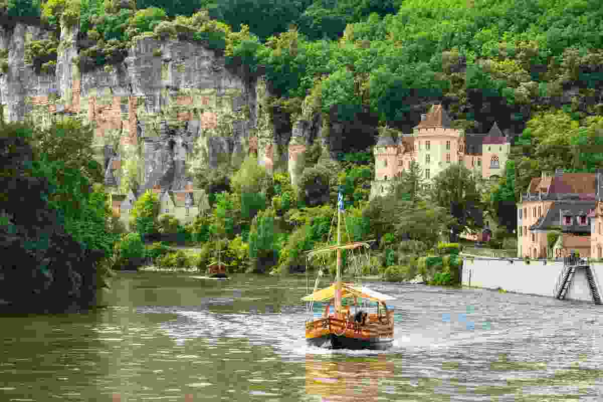 Sailing along the Dordogne, France (Shutterstock)