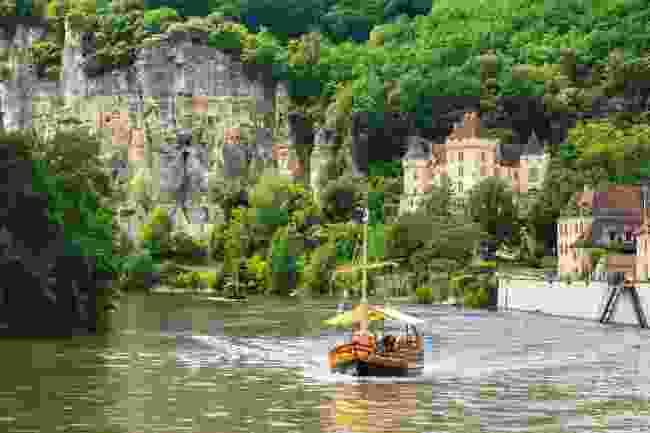 Sailing along the Dordogne, France (Shutterstock)