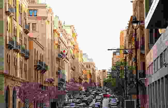 Allenby Street, downtown Beirut (Shutterstock)
