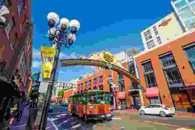 San Diego's Gaslight Quarter (Dreamstime)