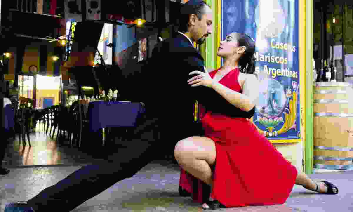 Dancing in the streets of Buenos Aires (Dreamstime)