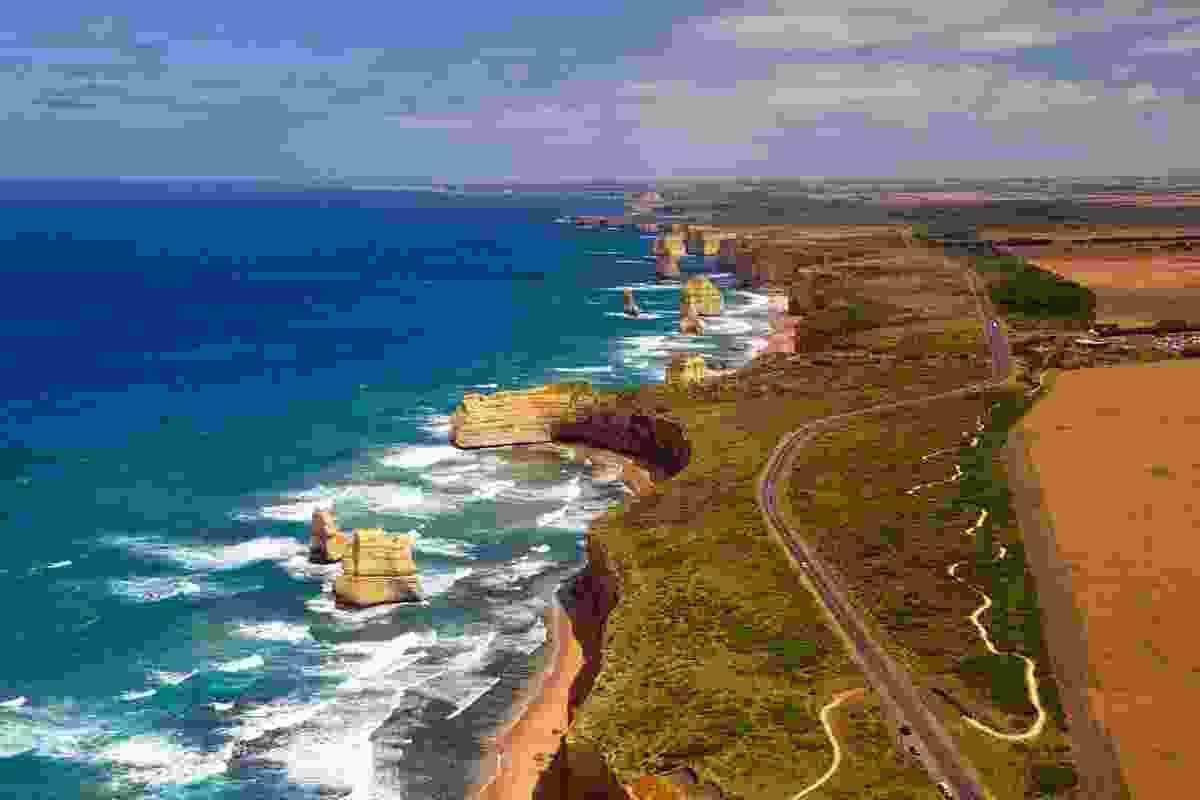 The Great Ocean Road and its Twelve Apostles (Shutterstock)