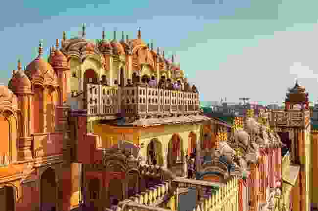 Hawa Mahal Palace in Jaipur, Rajasthan (Shutterstock)
