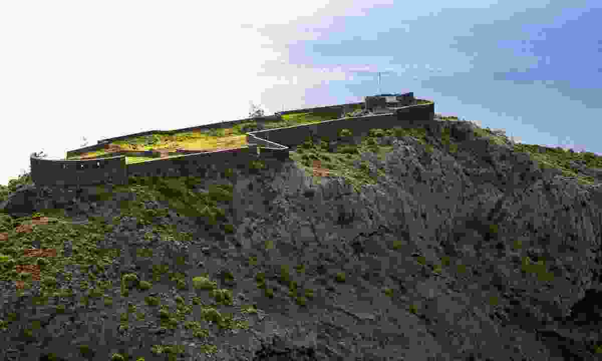 The colossal citadel of High-Knoll Fort (St Helena Tourist Board)