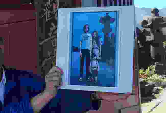 John Lennon at Karuizawa, Lyn Hughes