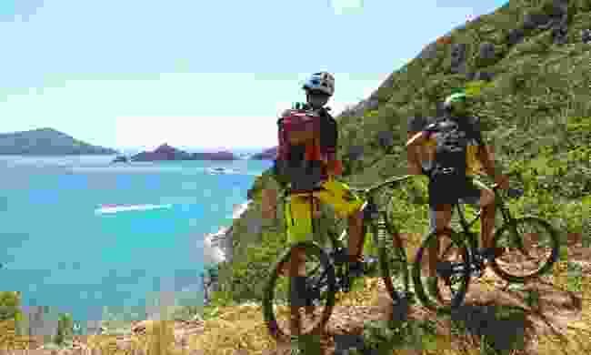 Mountain bike along the coast (Tobago Tourism Agency Ltd)