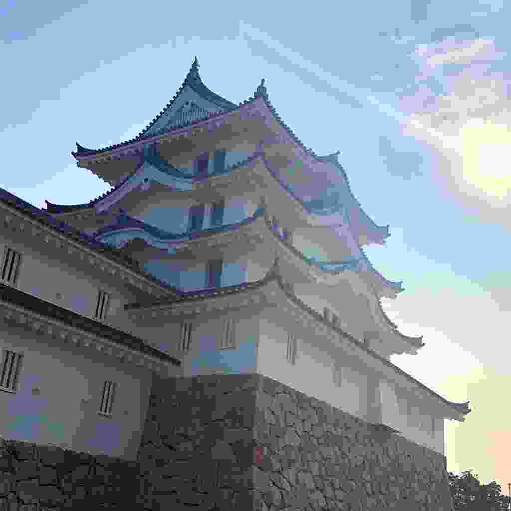 Amagasaki's new castle