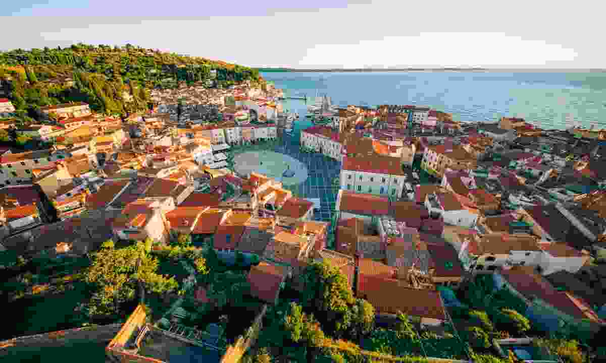 Grand view of Piran, Slovenia (Slovenian Tourist Board)