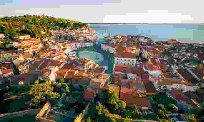 Grand view of Piran, Slovenia (Slovenian Tourist Board)