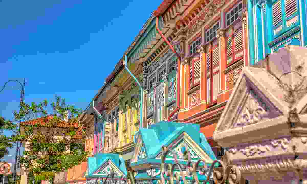 Joo Chiat road in Katong is well-worth a stroll to admire the colonial houses (Shutterstock)
