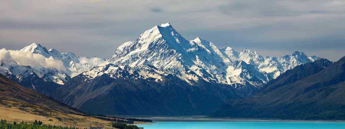 Mount Cook and Pukaki Lake (Shutterstock.com)