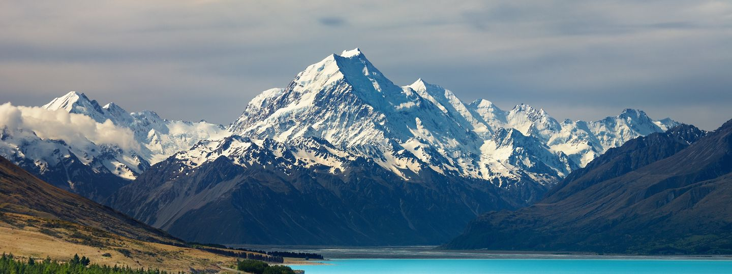 Mount Cook And Pukaki Lake Shutterstock