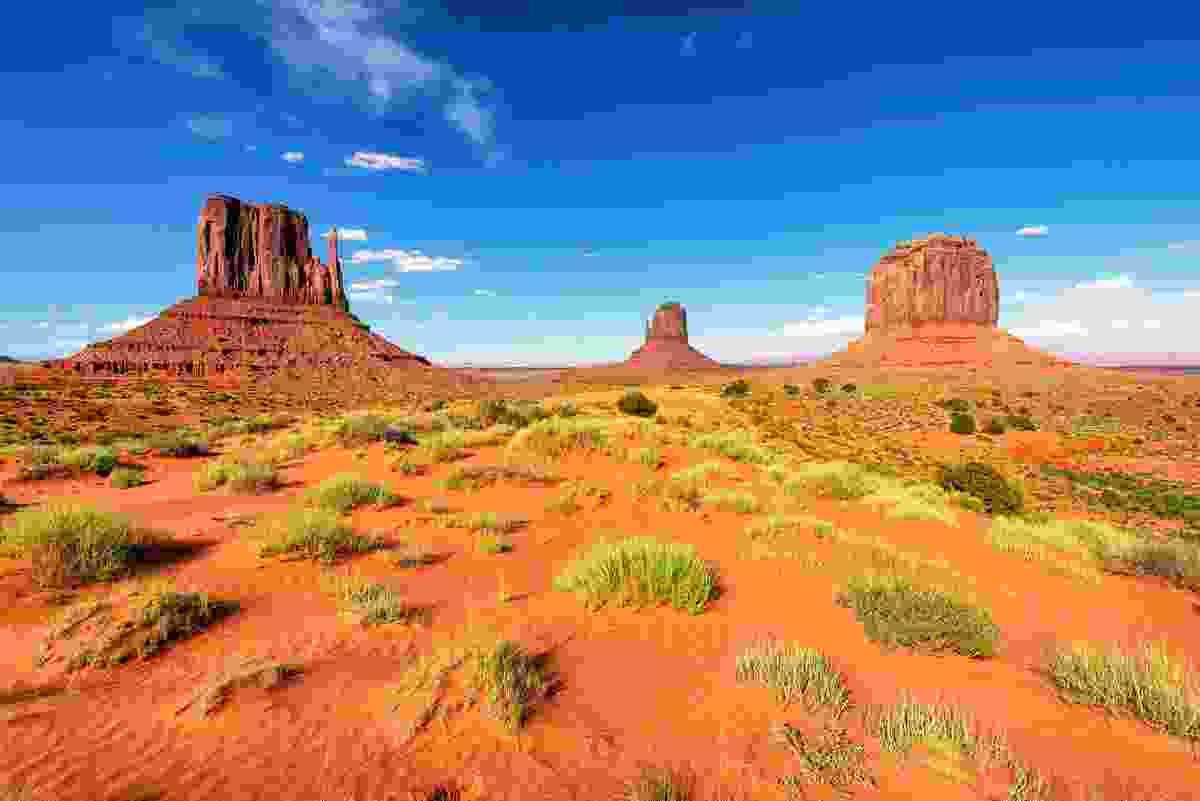 Monument Valley, Arizona (Shutterstock)
