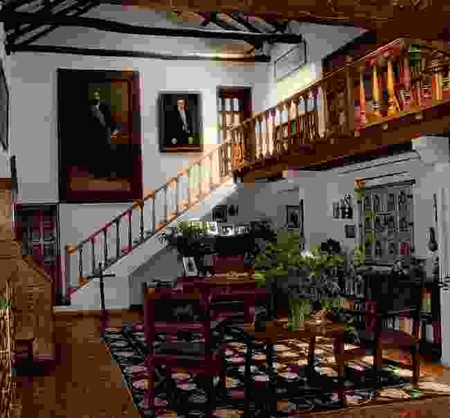 The president's living room inside the Hacienda Zuleta (Hacienda Zuleta)