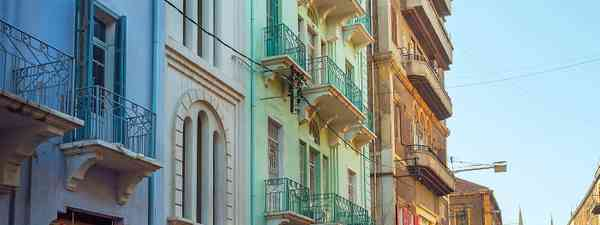Traditional architecture in the Gemmayzeh neighbourhood (Shutterstock)