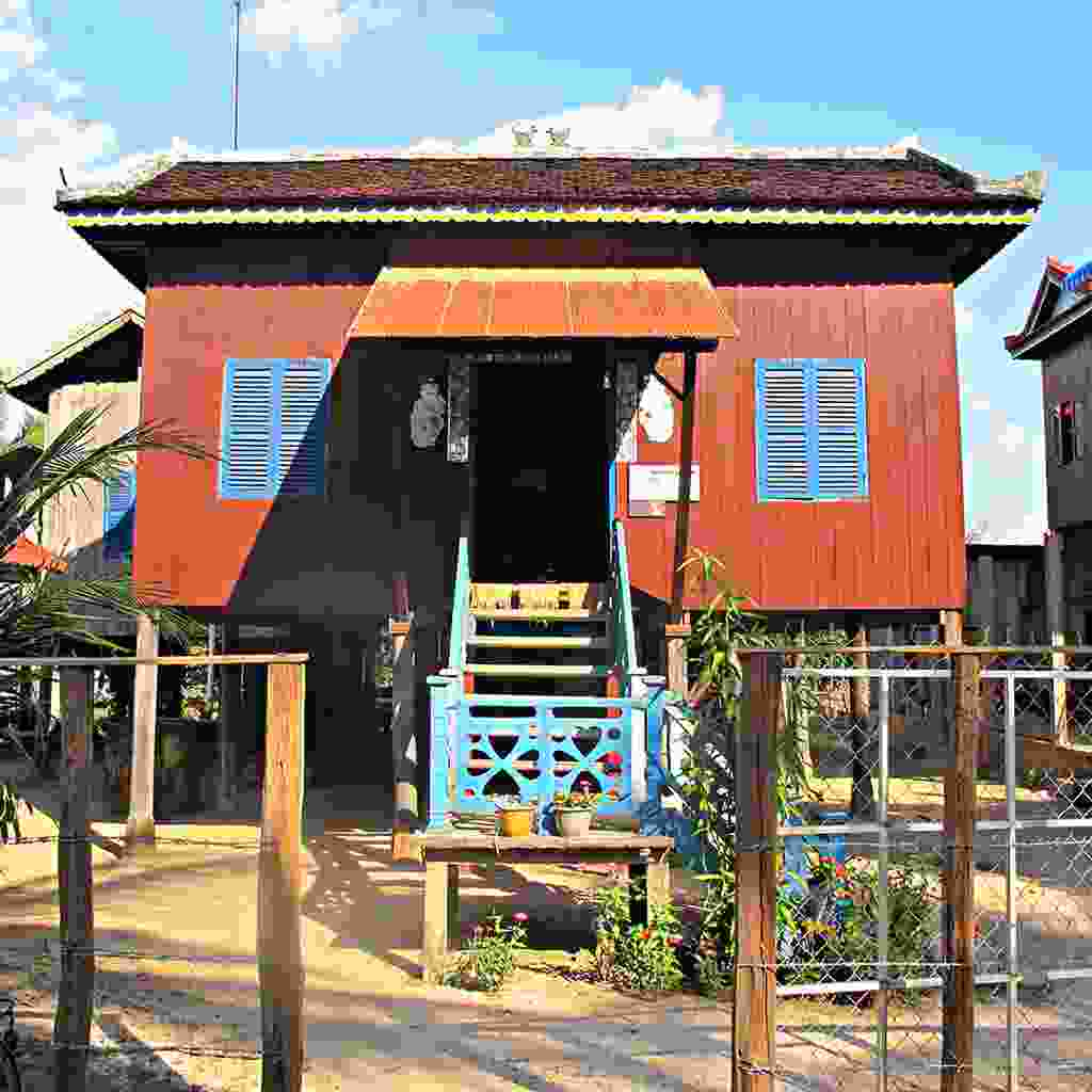 Stay in the a homestay in the nearby village of Kampong Thom (Vicky Knight/ Rickshaw Travel)