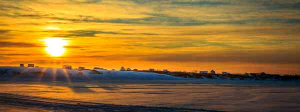 Off the Nome Spit in Nome, Alaska (Shutterstock)