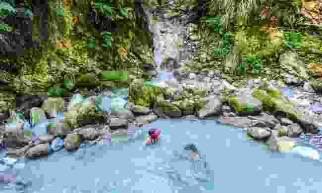 Bathe in a hot spring in Yangmingshan National Park (Shutterstock)