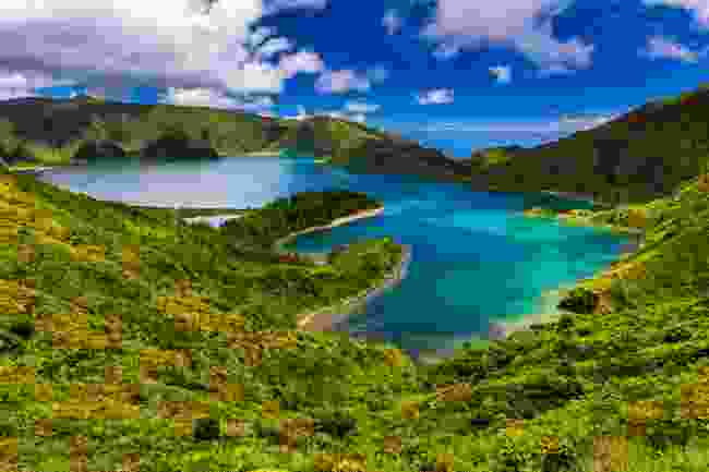 Lagoa do Fogo lake in Sao Miguel Island (Shutterstock)