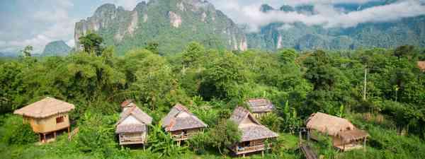 Laos hillside landscape (Shutterstock)