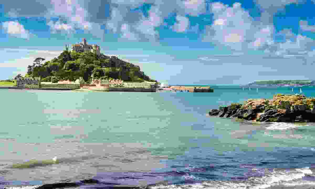 St Michael's Mount off the coast of Penzance (Shutterstock)