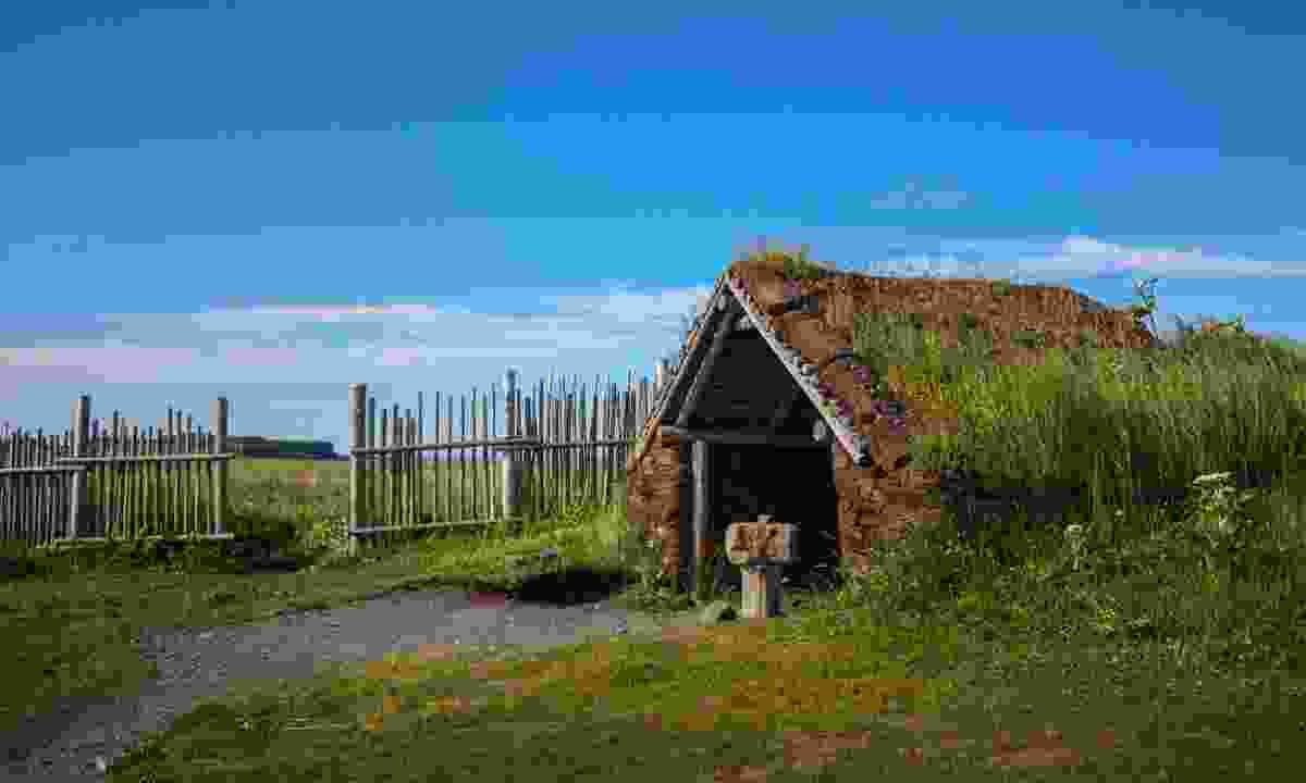 One of the many viking houses (Shutterstock)