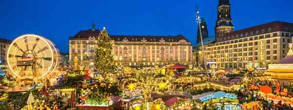 Dresden Christmas Market, Germany (Shutterstock)
